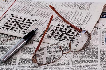 Crossword Puzzle 451x300